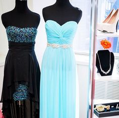 How #gorgeous are prom styles and 211S29500 & 8420DW3B?! We love blue for #prom2014!