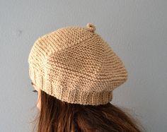 Women's Knit Hats Women Winter Hat Hand Knit Hat Slouchy Women Knit Hat