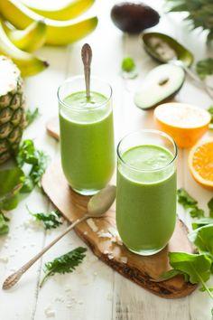 Tropical Green Smoothie Recipe on MyRecipeMagic.com