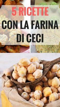 5 Ricette con Farina di Ceci Semplici e Deliziose Gluten Free Recipes, Keto Recipes, Cooking Recipes, Healthy Recipes, Italian Dishes, Italian Recipes, Cannelloni, Vegetarian Paleo, Vegan Dishes