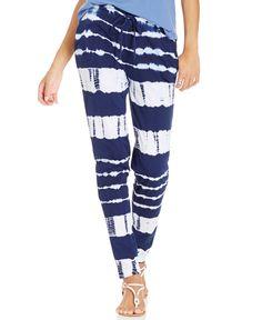 American Living Tie-Dye Print Pants