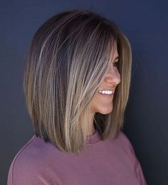 Bob Frisuren Kurz 22 Stunning Long Bob Hairstyles StylesRant 22 Stunning Long Bob Which Growing Out Short Hair Styles, Medium Hair Styles, Curly Hair Styles, Hair Medium, Long Bob Styles, Long Bob Cuts, Medium Bob Cuts, Long Blunt Bob, Short Long Bob