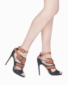 Just know that I'm only posting high heels for their looks. I would never attempt to wear these. :)