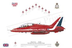 Purchase Hawk at Squadron Prints. Signed Print and other products are available at the best prices online. Shop for Signed Print now! Red Force, Red Arrow, Royal Air Force, Aviation Art, Sign Printing, Present Day, Bae, Aircraft, Military