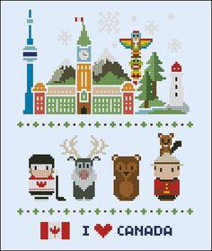 Canada icons Mini people around the world PDF par cloudsfactory