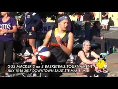 Join us for the Gus Macker in downtown Sault Ste. Marie! This basketball tournament features teams from all walks of life, and preserves the purity of the game!