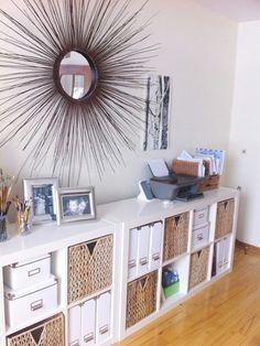 Ikea - Bookcase idea for behind my jellybean table.