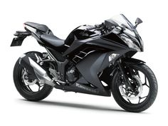 2013 Kawasaki Ninja 300...I find this bike so sexy and I hate motorcycles haha. I like the 250 bettee