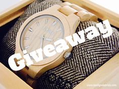 Jord Wood Watch Giveaway!  Snag a fabulous gift for someone!