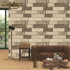 46.40$  Buy now - http://alig2s.shopchina.info/1/go.php?t=32503799153 - beibehang high Quality Vintage Style 3d Waterproof Brick Stone Stripe Wall paper Living Room Bedding Room Tv Backgaprs Wallpaper  #magazineonlinewebsite