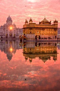 The Golden Temple, Amritsar, India http://tastethelove.co.uk/