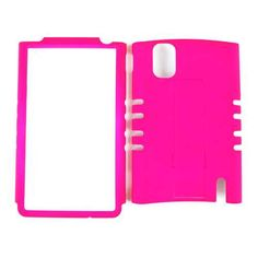 Unlimited Cellular Rocker Snap-On Case for LG Optimus G E970 (Fluorescent Dark Hot Pink)