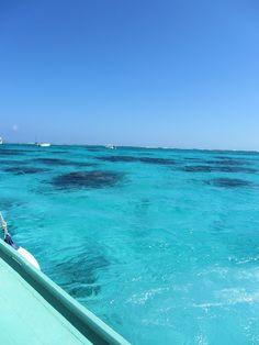 A gorgeous day to sail to Mexico Rocks, Ambergris Caye, Belize