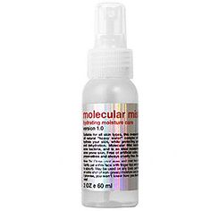 SIRCUIT SKIN Molecular Mist at pureradiance.skincaretherapy.net Great way to increase the skin's moisture level.  Give you a nice dewy glow