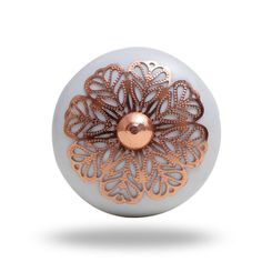 The perfect decorative door knob for a style lover. This vintage furniture accent looks great on a kitchen cupboard or cabinet - a quick and easy way to update the look of your space! Home décor for all. Everything to make your house a home. The most perfect collection of cabinet knobs. Ceramic Knobs, Ceramic Decor, Furniture Knobs, Vintage Furniture, Home Decor Accessories, Decorative Accessories, Decorative Door Knobs, Cabinet And Drawer Knobs, Copper Handles