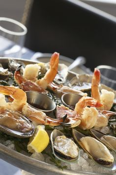 A New England Style Seafood Restaurant Harbor House Is Set On The Scenic S
