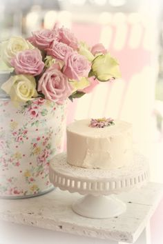 All Things Shabby and Beautiful Birthday Cake Pops, Girl Birthday, Happy Birthday, Girls Tea Party, Raspberry Tarts, Fancy Cakes, Pretty Pastel, Bridal Flowers, Pretty Cakes