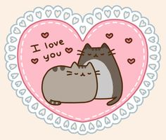 Relationship Quotes - Is Pusheen the best? If I don& know what pusheen kitty is then search it! Chat Pusheen, Pusheen Love, Pusheen Stuff, Cat Valentine, Happy Valentines Day, Valentines Gif, Crazy Cat Lady, Crazy Cats, Kawaii 365