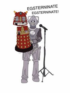 Cyber Ventriloquist.from Doctor Who's Cat @Doctor_Whos_Cat