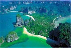 Railay Beach Krabi Thailand Guide, beaches, Bars, Restaurants and Hotels. Krabi Thailand, Thailand Travel, Asia Travel, Railay Beach Krabi, Thai International, Bungalow Resorts, Laos Vietnam, Thailand Adventure, Khao Lak