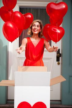 Valentine Party In A Box | Oh Happy Day!
