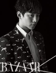 2PM's Lee Junho for 'HARPER'S BAZAAR' March 2016 (2)
