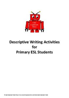 Over 20 Worksheets and activities for Upper Primary Students. Learn how to use descriptive writing to bring your student's writing alive!