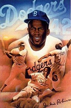 """""""I cannot stand and sing the anthem. I cannot salute the flag. I know that I am a black man in a white world. I never had it made."""" Jackie Robinson 1972 (25yrs after he intergrated baseball)"""