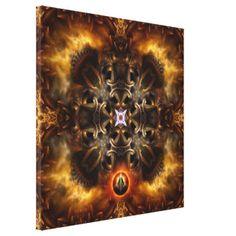 Plasmatron Digital Art Wrapped Canvas Print $391.00