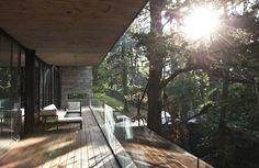 Prachtig balkon tussen het groen!