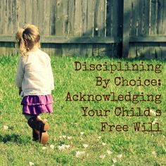Disciplining By Choice: Acknowledging Your Child's Free Will - Sisters Raising Sisters