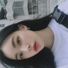 Korean Makeup, Korean Beauty, Asian Beauty, Cute Korean Girl, Cute Asian Girls, Pretty Asian Girl, Aesthetic People, Aesthetic Girl, Cute Makeup