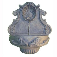 Spirit Shell Wall Indoor/Outdoor Fountain