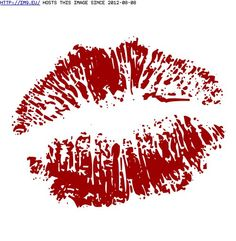 Lip Print Tattoo Designs