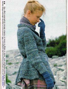 "somptueux .. tricot ""peplum"" ,"