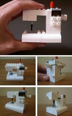 truebluemeandyou:  DIY LEGO Sewing Machine Tutorial from Such Designs here. I can't predict when free DIYs turn into pay patterns or kits, but going through my archives yesterday I had to edit a few DIYs that were no longer free. Such Designs has mentioned turning this into a kit on her website. For more free LEGO DIYs go here: truebluemeandyou.tumblr.com/tagged/lego