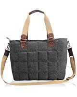 LeahWard Large Women's Tote Bags Nice Great Brand Handbags Hand Luggage Cabin Gym Travel Work Bag For Women 61 (BLACK WING BAG): Amazon.co.uk: Clothing