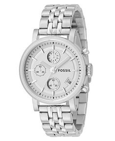 Fossil Watch, Women's Stainless Steel Bracelet 40mm ES2198 - Women's Watches - Jewelry & Watches - Macy's