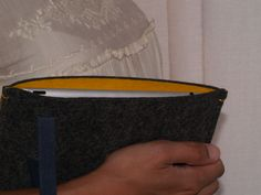 Funda iPad Manhattan yellow www.albehandmade.wordpress.com/