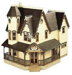 Annabelle Pierce Dollhouse Kit [GRz-GRN8011] - $169.95 : Mainly Minis Dollhouse Miniatures