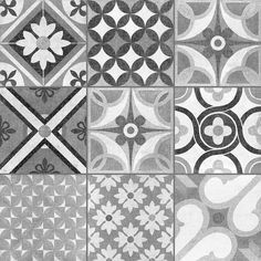 Invite some Moroccan charm into your interiors with these Louane Tiles. A colourful patchwork of Mediterranean patterns, they are ideal for a statement floor. Patchwork Tiles, Patchwork Patterns, Floor Texture, Tiles Texture, Moroccan Pattern, Moroccan Tiles, Modern Floor Tiles, Tile Floor, Floor Patterns