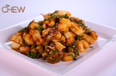 Mario Batali's Gnocchi and 2-Minute Calarmi recipe #thechew