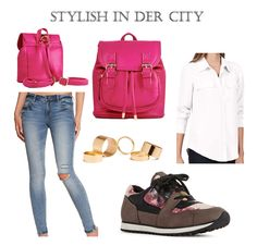 Stylish in der City! I love that Style <3 Those Shoes!