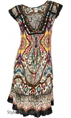 Bila Clothing Premala Sun Dress in Cream