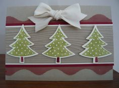 """Simple Scentsational Christmas **** SU """"Scentsational Season"""" stamp image & """"Holiday Collection"""" Framelits Dies, 2012 Holiday Mini."""