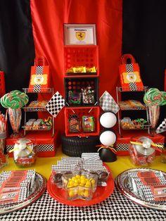 Treats at a Ferrari Party #ferrari #partytreats