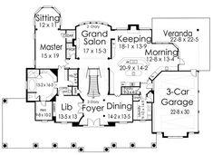 1st Floor Plan image of Broadstone Lodge House Plan