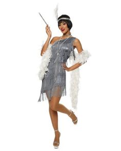 Shimmer and shine brighter than the rest when you arrive in such glamorous style! Our Women's Dazzling Flapper Sexy Halloween Costume includes a fierce dress. I want to be gatsby themed this Halloween! Flapper Girl Costumes, Sexy Adult Costumes, Gatsby Costume, Costumes For Women, Flapper Dresses, Gangster Costumes, Flapper Girls, 1920s Party Dresses, Great Gatsby Dresses