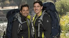The world knows Jonathan Knight from NKOTB, but they're about to meet his partner, fitness coach Harley Rodriguez on The Amazing Race.