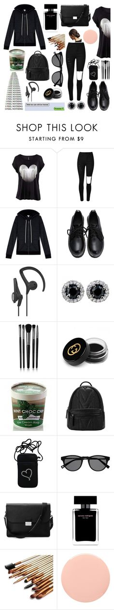 """""""Breakup Style"""" by dreamingdaisy ❤ liked on Polyvore featuring Splendid, Illamasqua, Gucci, Bomb Cosmetics, Aspinal of London, Narciso Rodriguez, Smith & Cult, women's clothing, women and female"""
